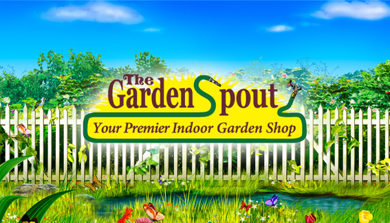 The Garden Spout header image
