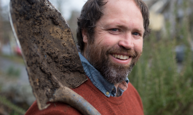 Daniel Campbell, owner of Pdx.farm